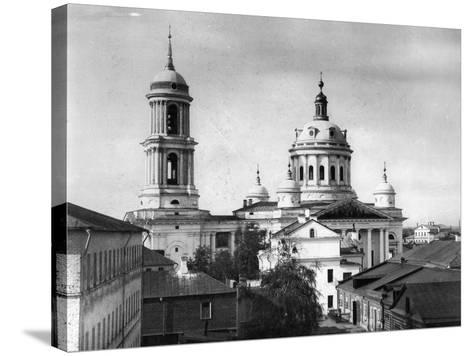 Church of St Martin the Confessor, Pope of Rome, Alexeevskaya, Moscow, Russia, 1882- Scherer Nabholz & Co-Stretched Canvas Print