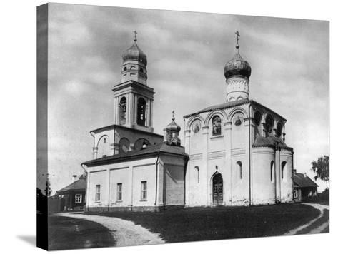 Church of the Nativity of the Most Holy Theotokos on Simonovo, Moscow, Russia, 1882- Scherer Nabholz & Co-Stretched Canvas Print