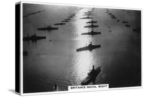 The British Fleet at King George V's Jubilee Review, Spithead, July 1935--Stretched Canvas Print