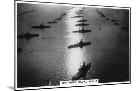 The British Fleet at King George V's Jubilee Review, Spithead, July 1935--Mounted Giclee Print