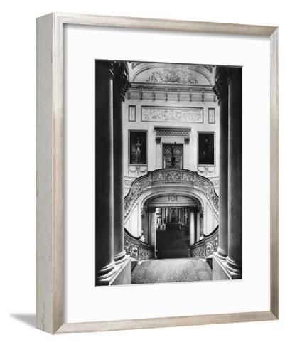 The Grand Staircase in Buckingham Palace, London, 1935--Framed Art Print