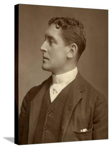 Hb Conway, British Actor, 1888-Window & Grove-Stretched Canvas Print