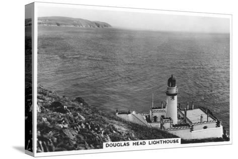 Douglas Head Lighthouse, Isle of Man, 1937--Stretched Canvas Print