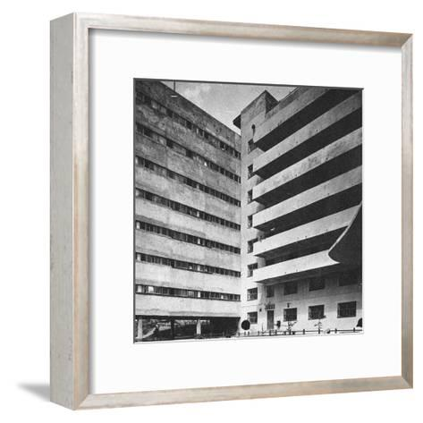 Communal House of the Textile Institute (Nikolaev's Hous)--Framed Art Print