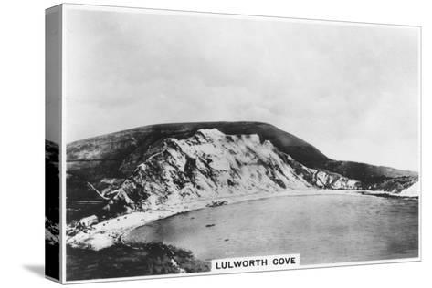 Lulworth Cove, Dorset, 1937--Stretched Canvas Print