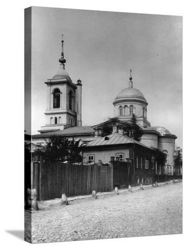Church of Saints Athanasius and Cyril of Alexandria, Moscow, Russia, 1881- Scherer Nabholz & Co-Stretched Canvas Print