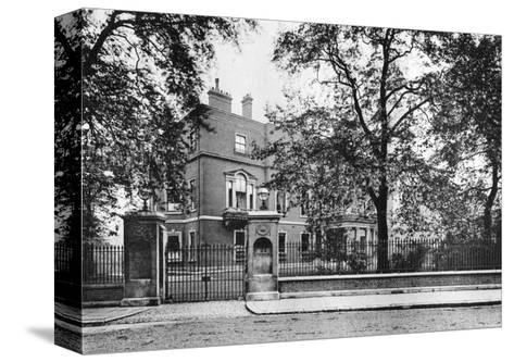 Portman House, Portman Square, 1908--Stretched Canvas Print