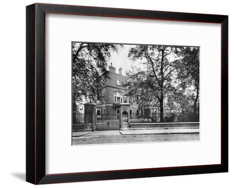 Portman House, Portman Square, 1908--Framed Art Print