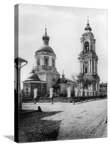 Church of the Resurrection of Christ, Monetchiki, Moscow, Russia, 1881- Scherer Nabholz & Co-Stretched Canvas Print