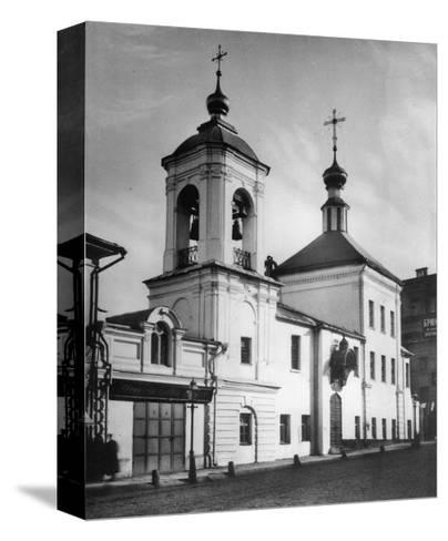 Church of Saint Nicholas the Miracle Maker, Maroseika Street, Moscow, Russia, 1881- Scherer Nabholz & Co-Stretched Canvas Print