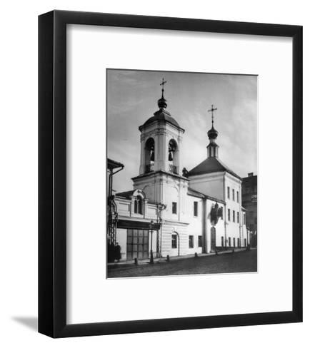 Church of Saint Nicholas the Miracle Maker, Maroseika Street, Moscow, Russia, 1881- Scherer Nabholz & Co-Framed Art Print