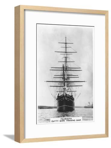 Cutty Sark, Falmouth, 1936--Framed Art Print