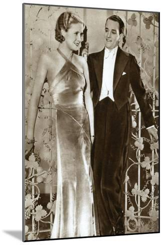 Molly Lamont and Gene Gerrard, Actors, 1933--Mounted Giclee Print