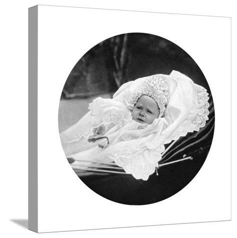 Prince Albert Windsor at Age One, C1896--Stretched Canvas Print
