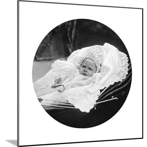 Prince Albert Windsor at Age One, C1896--Mounted Giclee Print