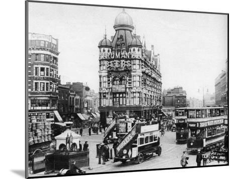 The Elephant and Castle, London, 1926-1927--Mounted Giclee Print
