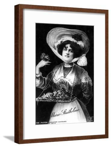 Marie Studholme (1875-193), English Actress, 1906--Framed Art Print