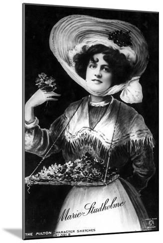 Marie Studholme (1875-193), English Actress, 1906--Mounted Giclee Print