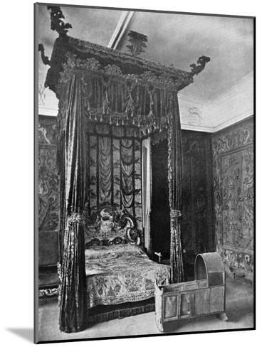 Queen Elizabeth's Bed, Haddon Hall, Derbyshire, 1924-1926--Mounted Giclee Print