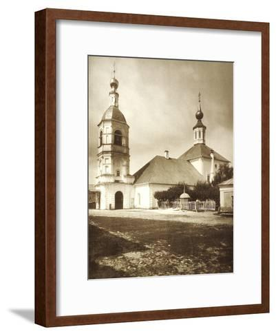 The Church of the Life-Giving Trinity, Arbat, Moscow, Russia, 1881--Framed Art Print
