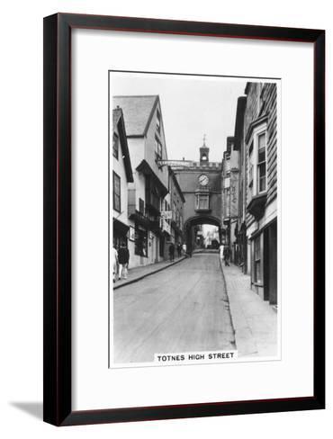 Eastgate, Totnes High Street, Devon, 1937--Framed Art Print
