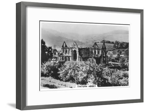 Tintern Abbey, Monmouthshire, Wales, 1937--Framed Art Print