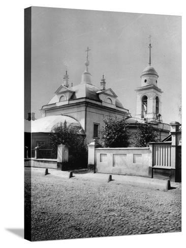 Church of the Resurrection of Christ, Bronnaya, Moscow, Russia, 1881- Scherer Nabholz & Co-Stretched Canvas Print