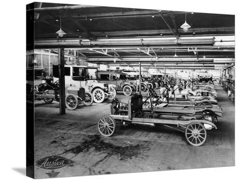 Austin Assembly Shop, 1914--Stretched Canvas Print