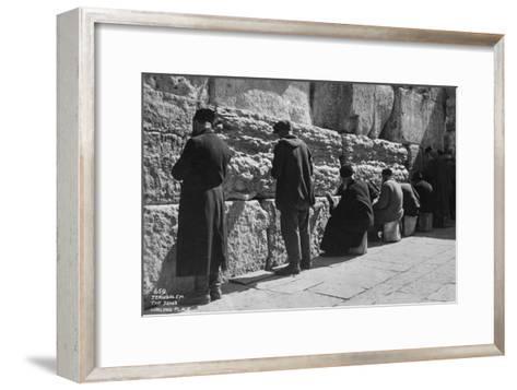 The Wailing Wall, Jerusalem, C1920S-C1930S--Framed Art Print