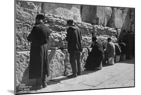 The Wailing Wall, Jerusalem, C1920S-C1930S--Mounted Giclee Print