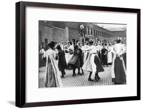 Celebrating the End of the First World War, 1918--Framed Art Print