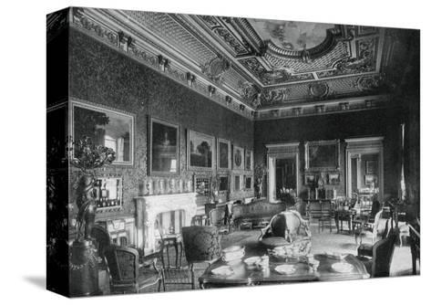 The Drawing-Room, Montagu House, 1908- J & Sons Russell-Stretched Canvas Print