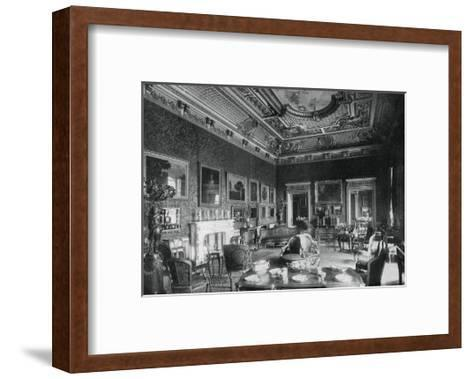 The Drawing-Room, Montagu House, 1908- J & Sons Russell-Framed Art Print