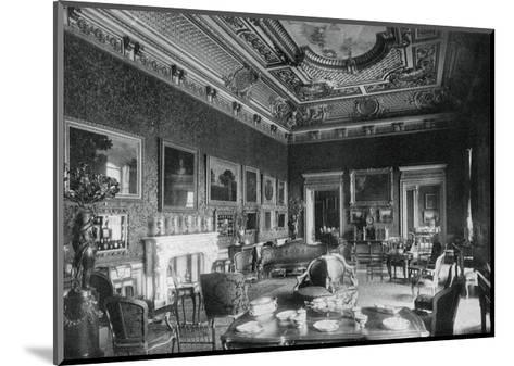 The Drawing-Room, Montagu House, 1908- J & Sons Russell-Mounted Giclee Print