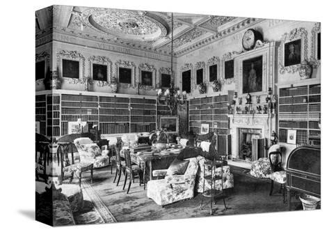 The Library, Chesterfield House, 1908--Stretched Canvas Print