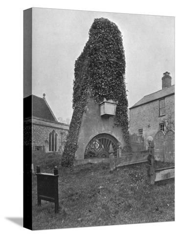 A Tomb Above Ground, Pinner Churchyard, London, 1924-1926-Valentine & Sons-Stretched Canvas Print
