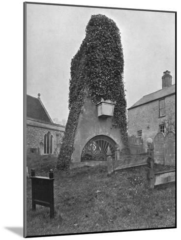 A Tomb Above Ground, Pinner Churchyard, London, 1924-1926-Valentine & Sons-Mounted Giclee Print