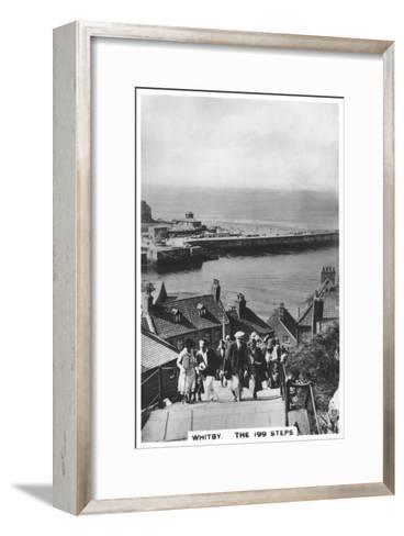 The 199 Steps, Whitby, 1936--Framed Art Print