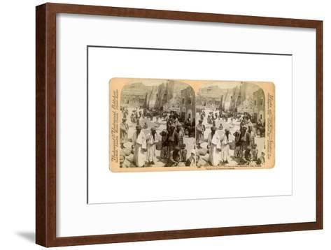 Church of the Nativity, Built Where Jesus Was Born, Bethlehem, Palestine, 1900-Underwood & Underwood-Framed Art Print