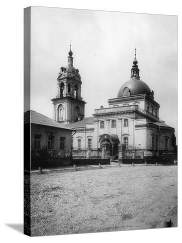 Church of the Holy Martyrs Cosmas and Damian (Ne), Taganka, Moscow, Russia, 1881- Scherer Nabholz & Co-Stretched Canvas Print