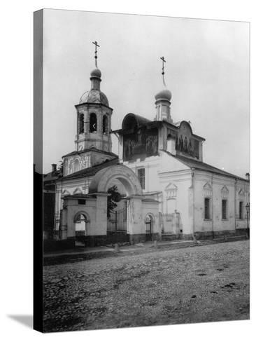 Church of the Holy Martyrs Cosmas and Damian (Ol), Taganka, Moscow, Russia, 1881- Scherer Nabholz & Co-Stretched Canvas Print
