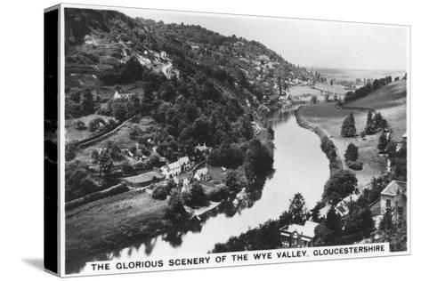 Wye Valley, Gloucestershire, 1936--Stretched Canvas Print