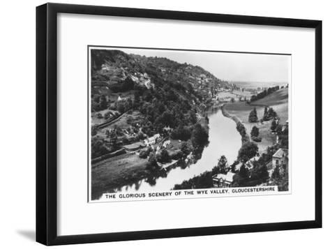 Wye Valley, Gloucestershire, 1936--Framed Art Print
