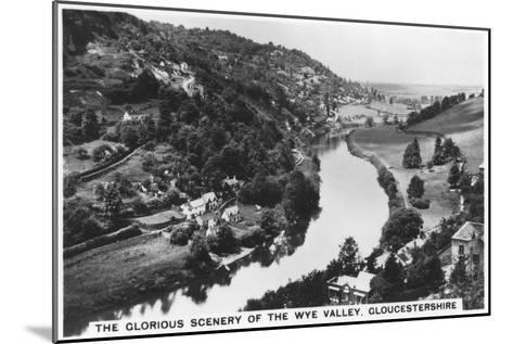 Wye Valley, Gloucestershire, 1936--Mounted Giclee Print