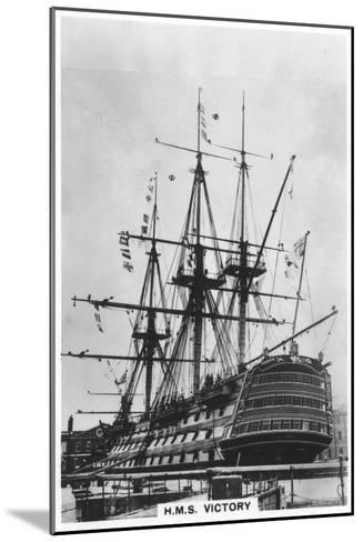 HMS Victory, Portsmouth, Hampshire, 1936--Mounted Giclee Print