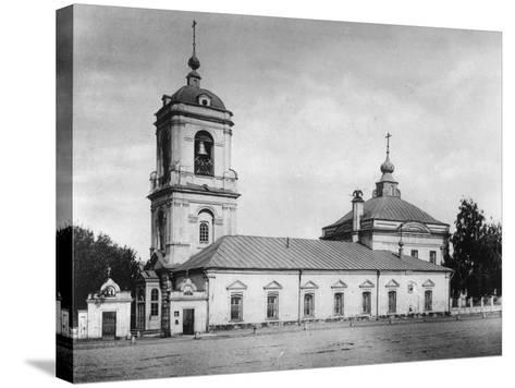 Church of the Transfiguration of the Saviour, Preobrazhenskoye, Moscow, Russia, 1882- Scherer Nabholz & Co-Stretched Canvas Print