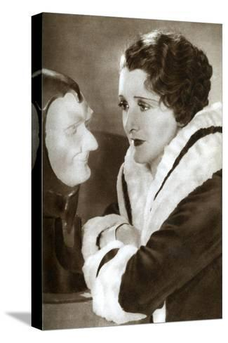 Anne Grey, English Actress, 1933--Stretched Canvas Print
