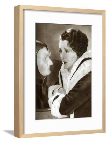Anne Grey, English Actress, 1933--Framed Art Print