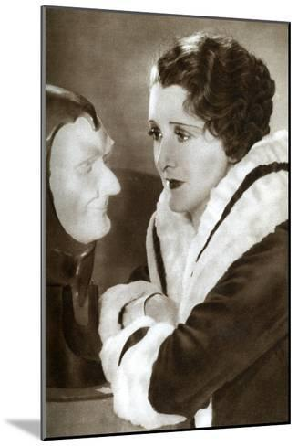 Anne Grey, English Actress, 1933--Mounted Giclee Print