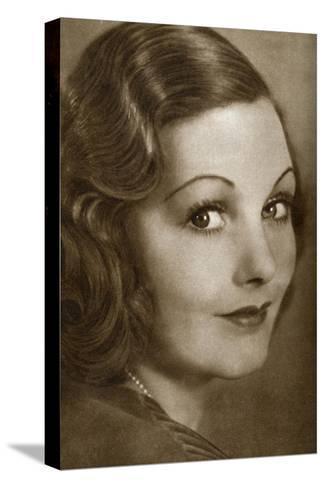 Elizabeth Allan, English Actress, 1933--Stretched Canvas Print